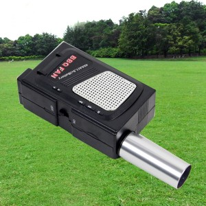 Portable Fan Air Electric Blower for Outdoor Camping Hiking BBQ Barbecue