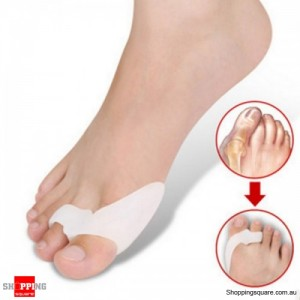 Silicone Gel Orthopedic Toe Separator/Bunion Protector for Feet Care