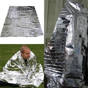 Mylar Waterproof Emergency Rescue Space Foil Thermal Blanket 83