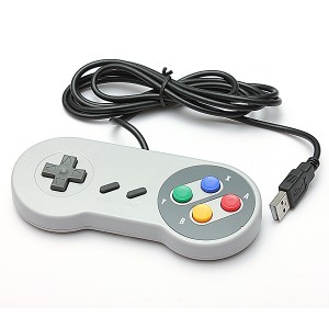 Super Nintendo SNES USB Famicom Colored  Controller for Windows/Mac