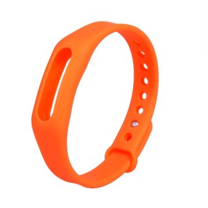 Original Xiaomi Bracelet Wrist Strap For Miband / Miband 1S Orange Colour