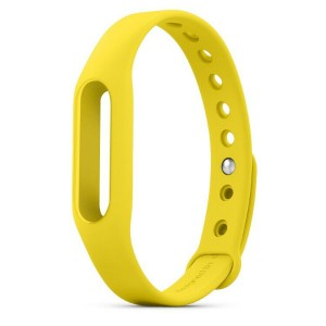 Original Xiaomi Bracelet Wrist Strap For Miband / Miband 1S Yellow Colour
