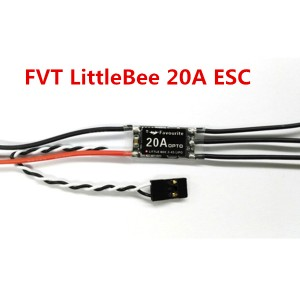 FVT LittleBee 20A Mini ESC BLHeli OPTO 2-4S Supports OneShot125 For RC Multirotors