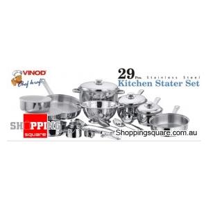 VINOD 29Pcs Kitchen Starter Set