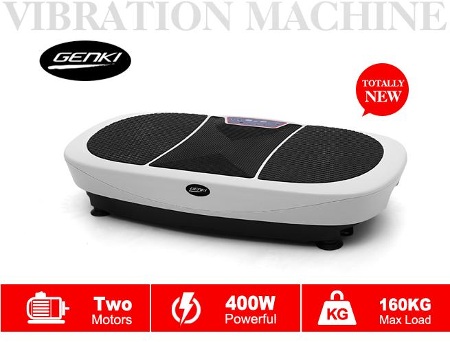 Genki Body Vibration Machine With 3d Shake Two Motor