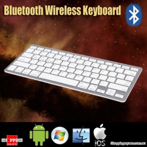 Portable Slim Bluetooth Wireless Keyboard For Apple iPad iPhone Android Mac Windows