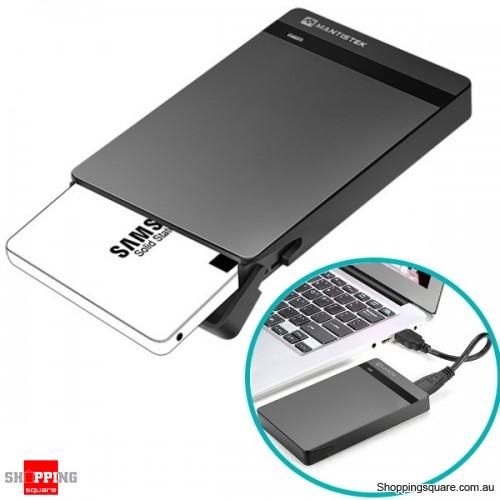 Tool-Free 2.5-inch SSD/HDD Enclosure External Case Support UAS/UASP SATA3 USB3.0