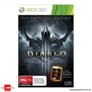 Diablo III: Reaper of Souls Ultimate Evil Edition Xbox 360 Game