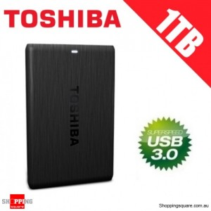 Toshiba Canvio Simple 1TB External Potable Hard Disk 2.5-inch USB 3.0