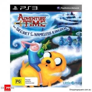 Adventure Time – The Secret of the Nameless Kingon PS3