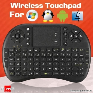 Rechargeable Wireless Keyboard with Touchpad for PC/Laptop/Android/Smart TV