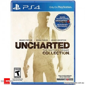 Uncharted The Nathan Drake Collection Game - PS4