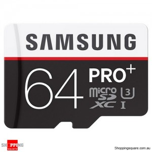 Samsung 64GB PRO Plus Class 10 95MB/s Micro SD TF Memory Card