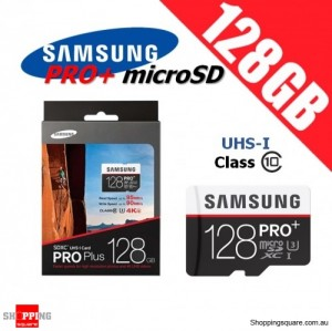 Samsung 128GB PRO Plus Class 10 95MB/s Micro SD TF Memory Card