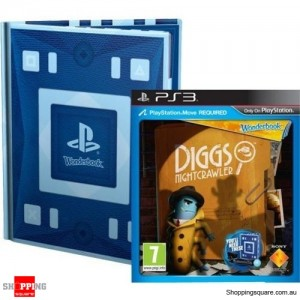 Wonderbook Diggs Nightcrawler - PS3 Playstation 3 Brand New