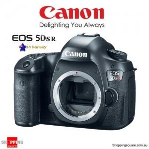 Canon EOS 5DS-R EF DSLR 50.6MP Full Frame ISO6400 Camera Body Black
