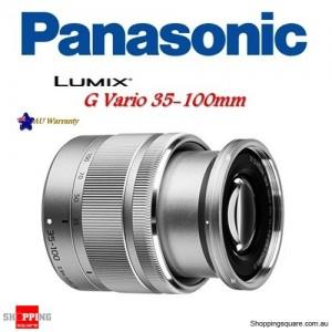 Panasonic LUMIX G VARIO 35-100mm F4.0-5.6 ASPH Mega OIS Camera Lens Silver