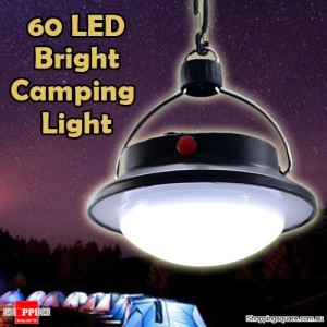 Portable 60 LED Camping Hiking Outdoor Light Tent Umbrella Night Lamp