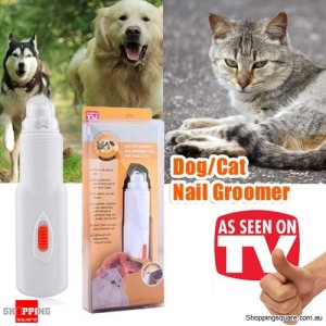 Electric Nail Groomer Grinder Grooming Tool for Dogs & Cats