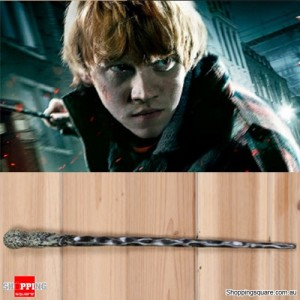 Harry Potter Magical Wand Replica Accessories for Role Play Cosplay with Box - Ron Weasley Style