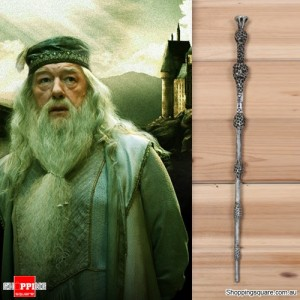 Harry Potter Magical Wand Replica Accessories for Role Play Cosplay with Box - Dumbledore Style