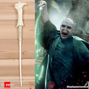 Harry Potter Magical Wand Replica Accessories for Role Play Cosplay with Box - Lord Voldemort Style