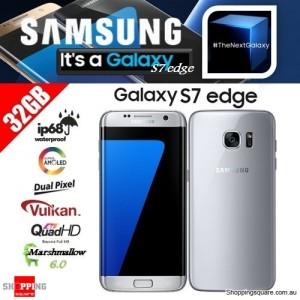Samsung Galaxy S7 Edge G9350 Dual SIM 4G 32GB Smart Phone Unlocked Silver