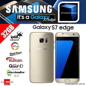 Samsung Galaxy S7 Edge G9350 Dual SIM 4G 32GB Smart Phone Unlocked Gold