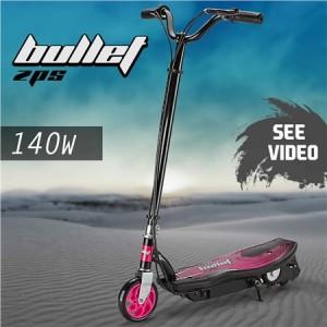 Bullet ZPS Kids Electric Scooter 140W - Pink