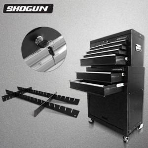 Shogun Tool Box with Adjustable Drawer Divider