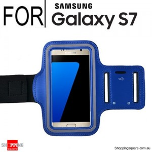 Sports Armband Case for Samsung Galaxy S7 Blue Colour