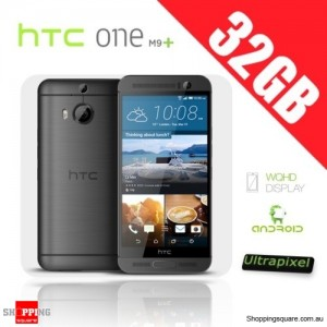 HTC One M9 Plus M9+ 4G 32GB Smart Phone Unlocked Gray