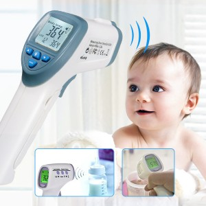 Infrared Non-contact Handheld Digital LCD Thermometer for Baby Kid Body Surface Temperature