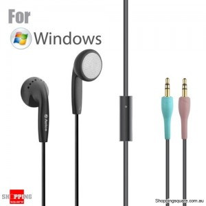 Aogos P10 Stereo Earphone Headphone with Microphone for Laptop Black Colour