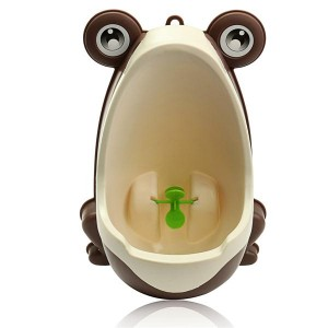 Lovely Frog Shaped Baby Kid Potty Toilet Training Urinal