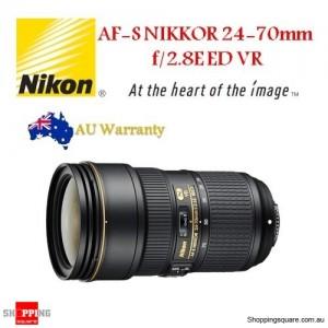 Nikon AF-S NIKKOR 24-70mm f/2.8E ED VR Camera DSLR Lens