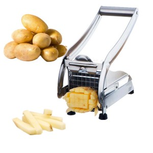 Stainless Steel Kitchen Potato Cutter Machine for French Fries