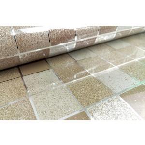 45x500cm Kitchen Home Waterproof Self Adhesive Anti Oil Mosaic Wallpaper Sticker Decoration Coffee Colour