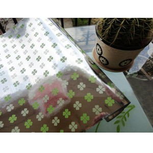 45x500cm Kitchen Home Waterproof Self Adhesive Anti Oil Mosaic Wallpaper Sticker Decoration Four-Leaf Clover Colour