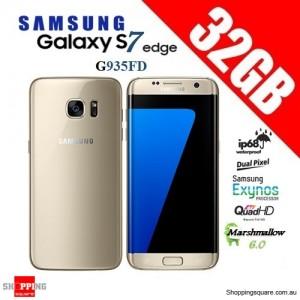 Samsung Galaxy S7 Edge Duos G935FD 4G 32GB Dual-SIM Unlocked Smartphone Gold