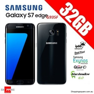 Samsung Galaxy S7 Edge G935F 4G 32GB Unlocked Smart Phone Black