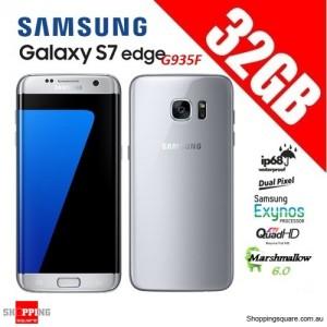 Samsung Galaxy S7 Edge G935F 4G 32GB Unlocked Smart Phone Silver
