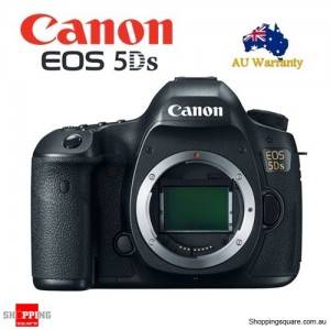Canon EOS 5DS Digital SLR Camera Body Full Frame 50.6 MP Black
