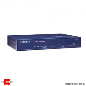 Netgear FVS338 VPN Firewall with 8-port 10/100 Switch