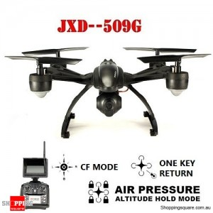 JXD 509G Aerial Drone RC Quadcopte 5.8G FPV Transmission With 2.0MP HD Camera