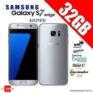 Samsung Galaxy S7 Edge Duos G935FD 4G 32GB Dual-SIM Unlocked Smartphone Silver