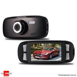 "2.7"" HD 1080P Car Dash DVR Camera Black Colour"