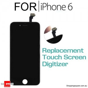 LCD Touch Screen Replacement Digitizer for iPhone 6 Black Colour