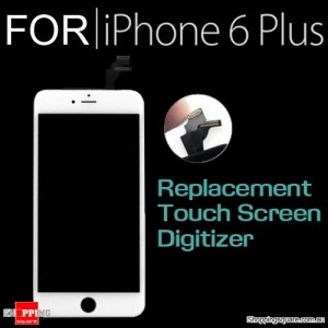 LCD Touch Screen Replacement Digitizer for iPhone 6 Plus White Colour