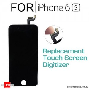 LCD Touch Screen Replacement Digitizer for iPhone 6S Black Colour